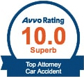 Avvo Rating 10.0 Superb Top Attorney Car Accident